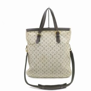 Auth Louis Vuitton Francoise Light Brown #2353L15
